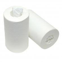 Poetspapier mini cellulose 1-laags 120x20cm   12 rol per pak