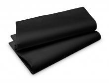 Duni Tablecovers Evolin tafellaken 127x180 cm zwart | 25 stuks