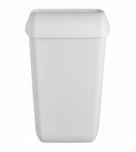 Afvalbak Quartz 23 liter mat wit