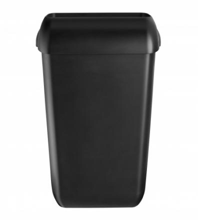 Afvalbak Quartz 23 liter mat zwart