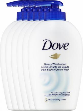 Dove handzeep met pomp 250 ml | 6 stuks