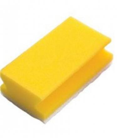 Taski reinigingsspons geel | 10 stuks