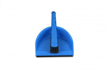 Handstoffer en blik compleet (plastic set)